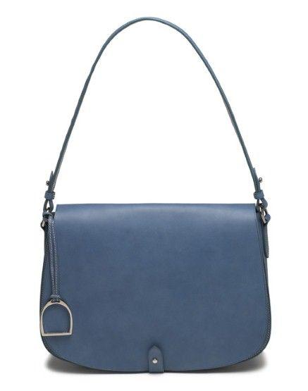 Ralph Lauren\u0027s Saddle Shoulder Bag. love love love the stirrup detail