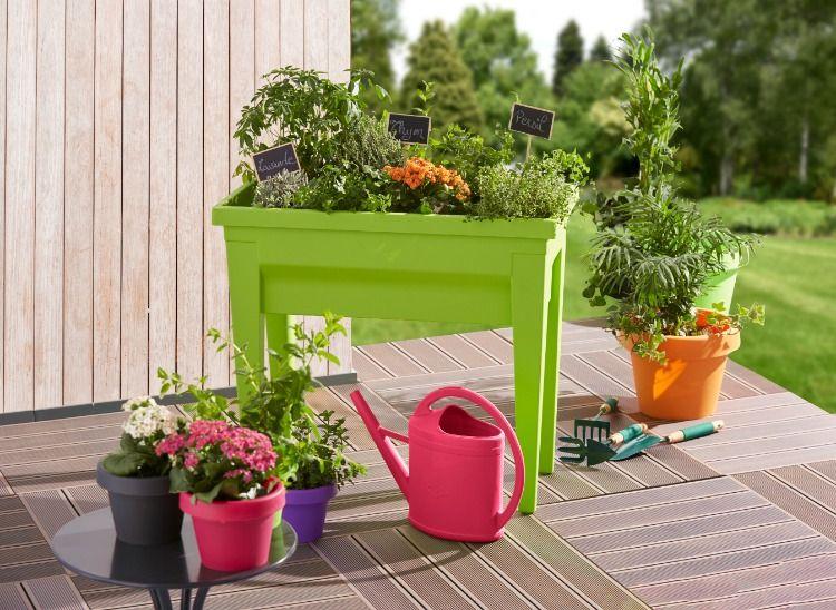 Bac A Fleurs Et Accessoires De Jardinage Jardiniere Haute Bac A Fleurs Decoration Jardin