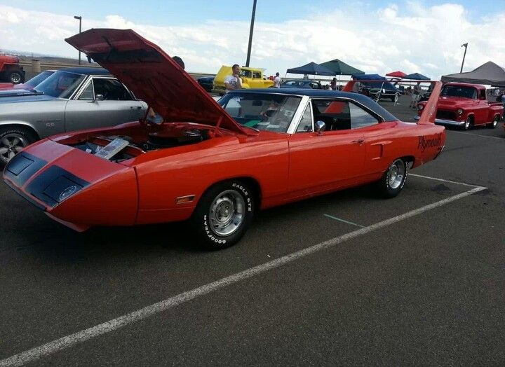 Very excited to see one of these. Plymouth road runner.