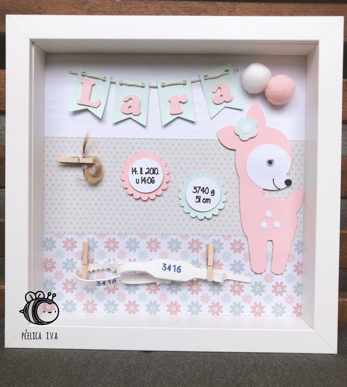 NAME MEANING PRINT Personalised Gift Baby Birthday Christening Nursery Princess