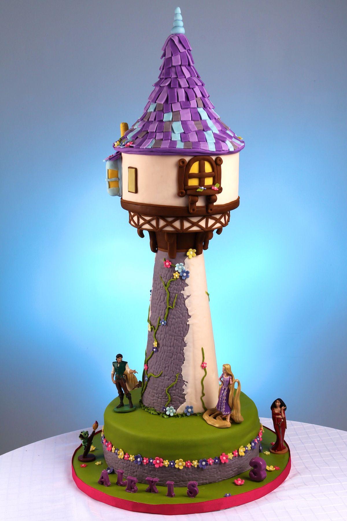 Tangled Tower Cake Rapunzel Tower Cake Rapunzel Cake