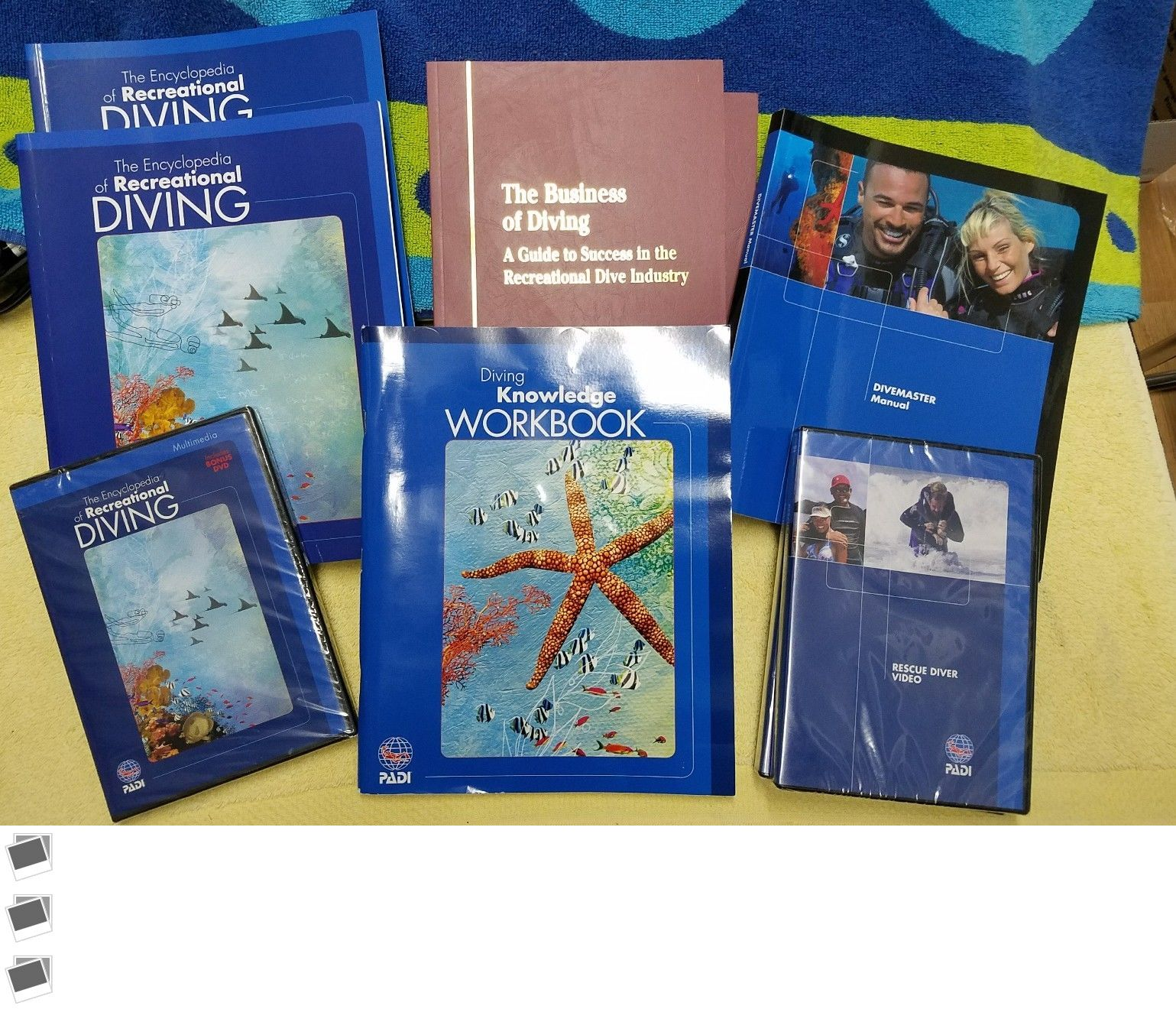 Books and Video 73993: Padi Manuals Miscellaneous Choose Your Title Scuba  Diving Knowledge -> BUY IT NOW ONLY: $13 on #eBay #books #video #manuals ...