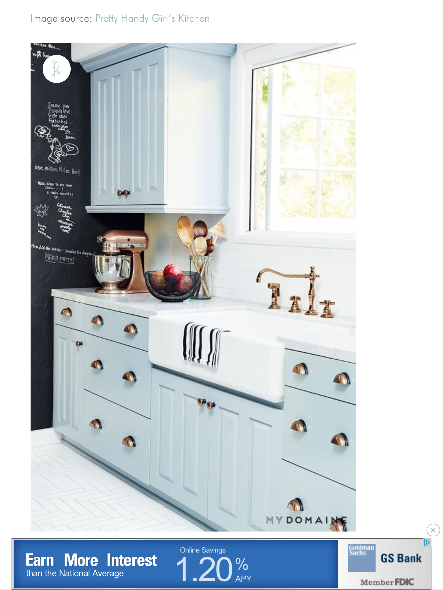 Pin by kathryn foley on kitchens pinterest blue kitchen cabinets