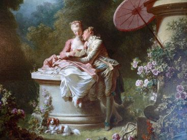 Rococo Painting Rococo Style Marie Antoinette Pinterest - Rococo painting