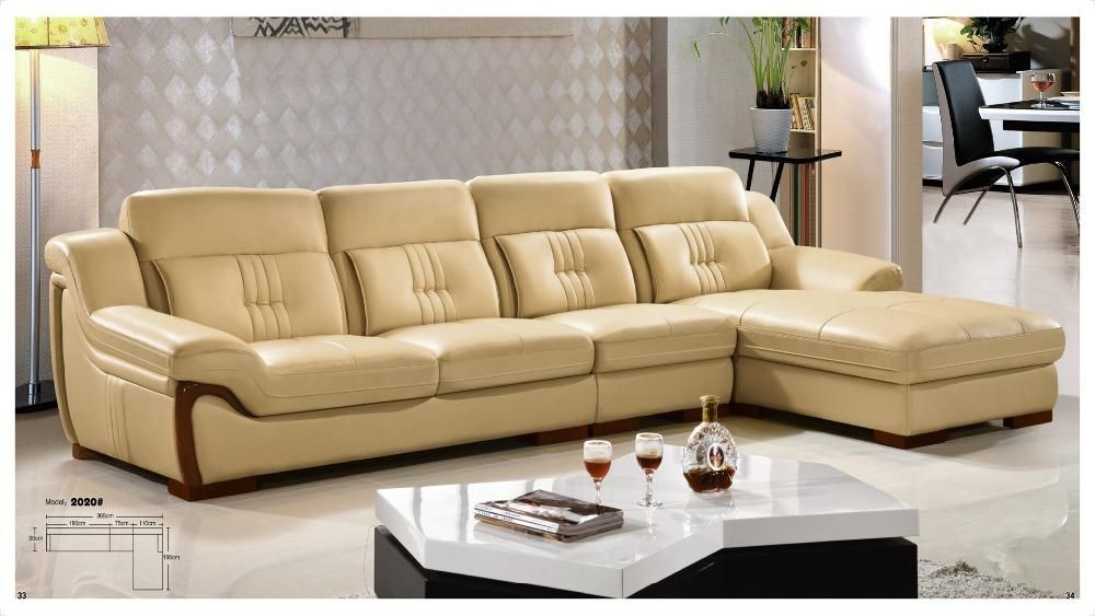Iexcellent Designer Corner Sofa Bed European And American Style Sofa Recliner Italian Leather Sof Sofa Bed Living Room Leather Corner Sofa Living Room Cushions