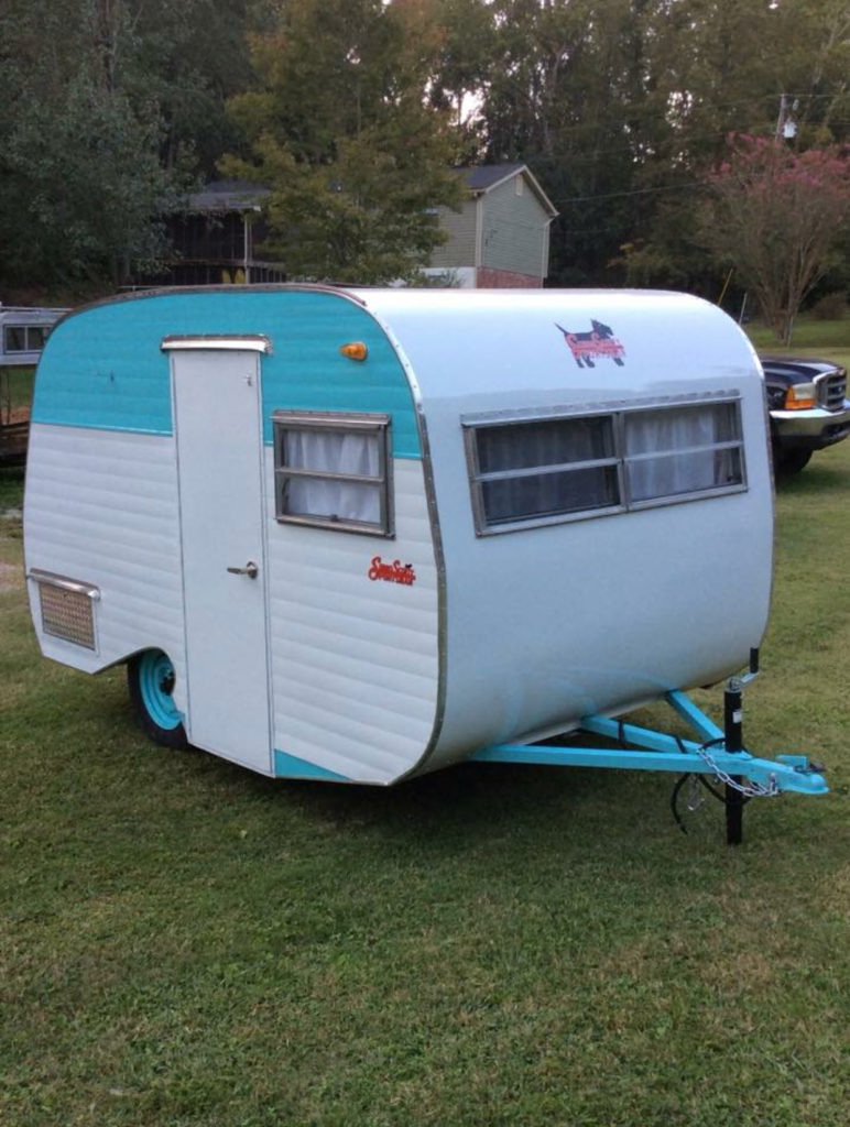 1969 Serro Scotty Goucho Totally Rebuilt From Trailer To Roof New Aluminum Siding And Roof Plumpin Vintage Trailers For Sale Retro Trailers Vintage Camper