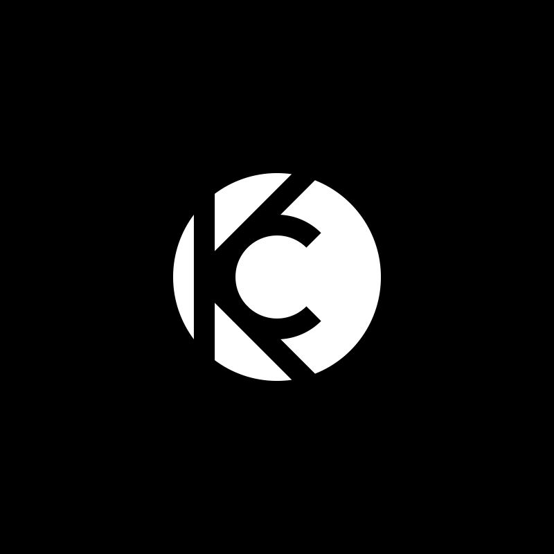 KC #monogram #typography #typo #type #initials #KC