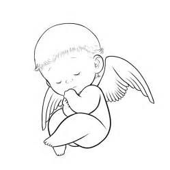Image Result For Baby Angel Coloring Page Angel Coloring Pages