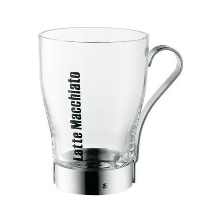 #LatteMacchiato Glas #Esstisch #Frühstück