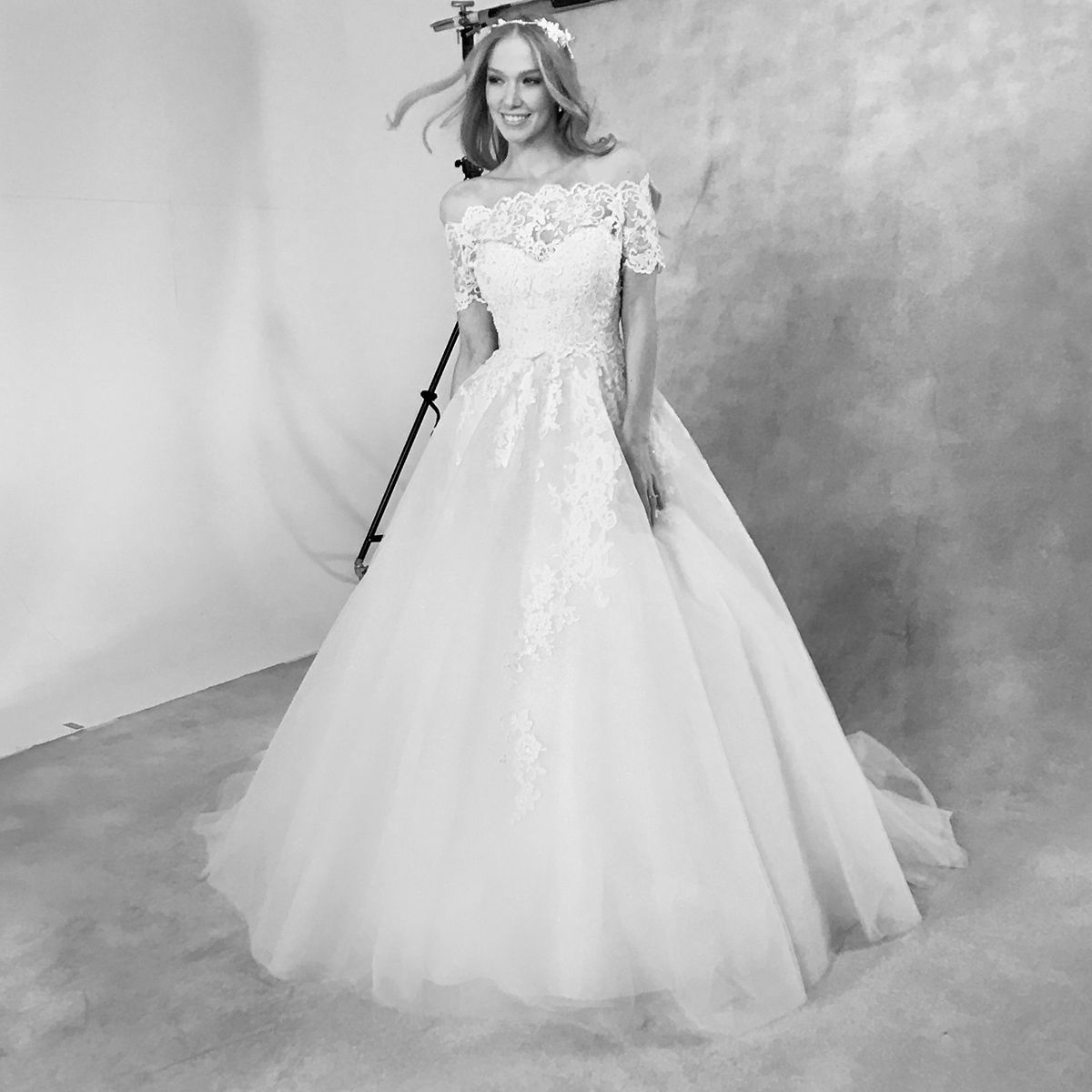 Our dress of the day is the sensational new princess gown \'Carrie ...