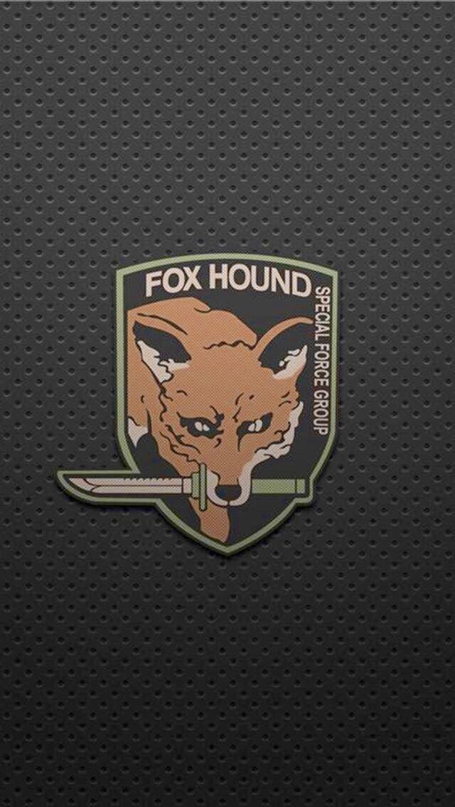 Foxhound Logo Metal Gear Solid Metal Gear Rising Metal Gear