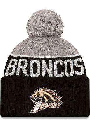 big sale 1609a c6b13 New Era Western Michigan Broncos Mens Black NE 15 Sport Knit Hat