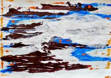 "Saatchi Art Artist Karina Plachetka; Painting, ""Abstract Art Project #7"" #art"