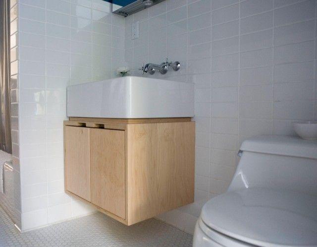 Plywood Bathroom Cabinet