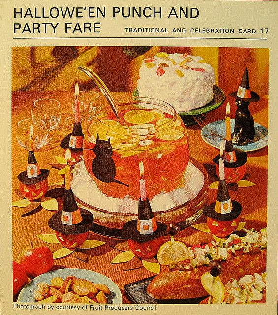 1967 Halloween Party - They really knew how to throw a bash back then. I love it!