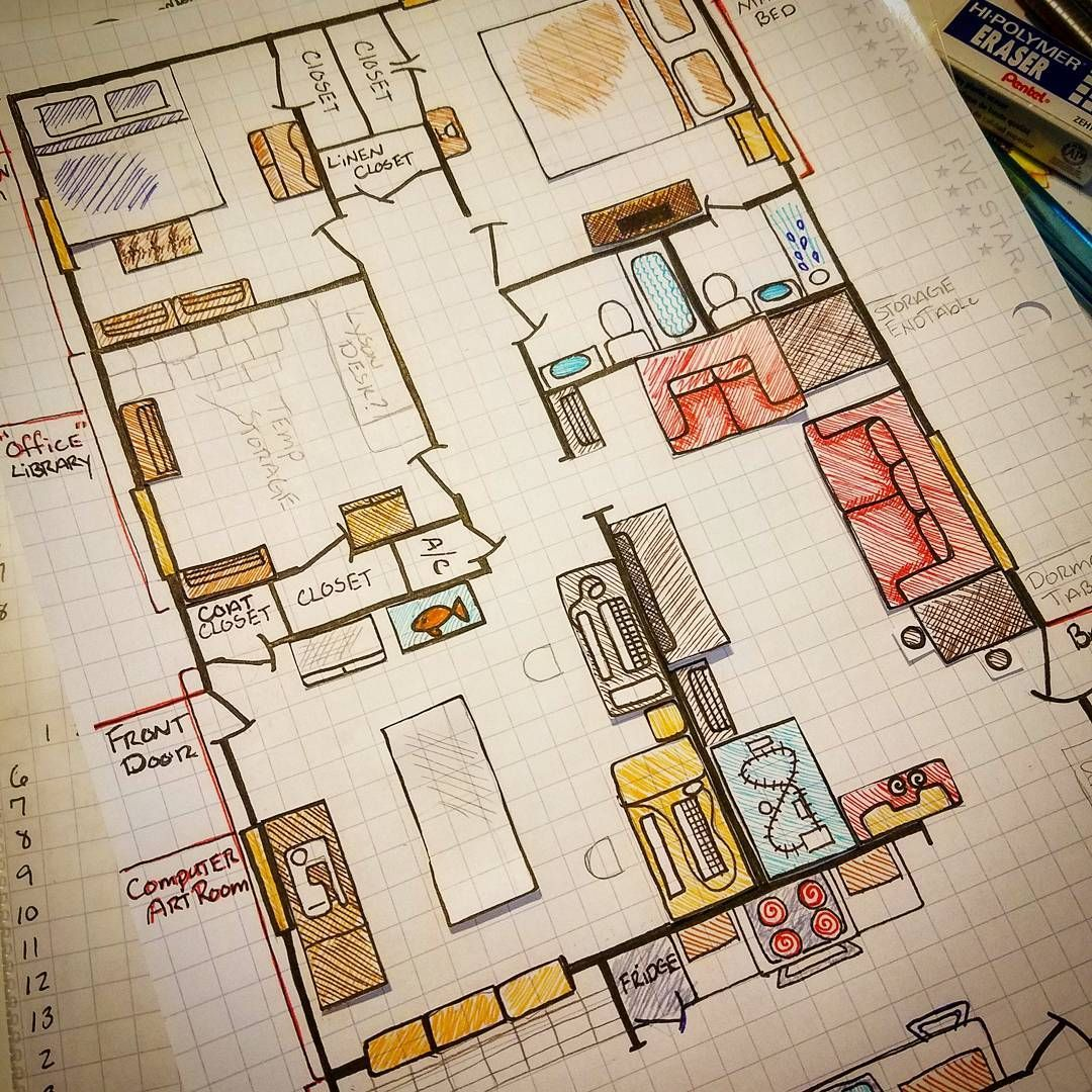 Moving Into New House Planning I Am Moving And I Usually Do A Layout Of The New Place Before M Bullet Journal Ideas Pages Bullet Journal Set Up Moving House