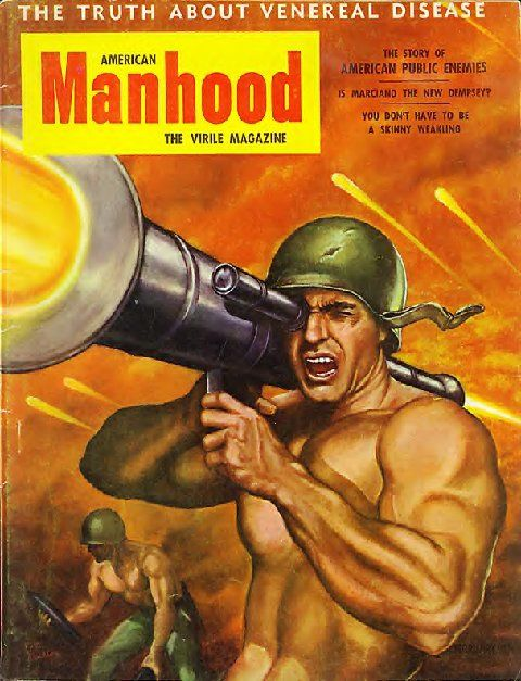 the guys are eager for manhood