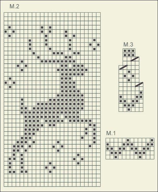 """Photo of Strickmützen mit Nadeln: Mütze mit Jacquardmuster """"Deer""""   Free Patterns"""
