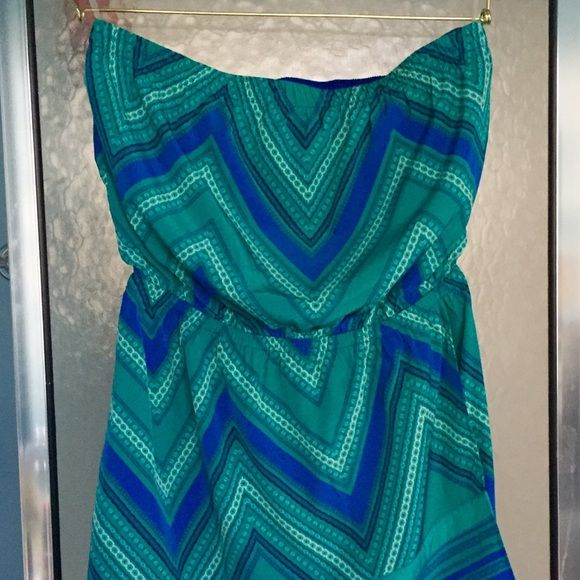 NWT Authentic Banana Republic Strapless Sun Dress Adorable  brand new, never worn! Express Dresses Strapless