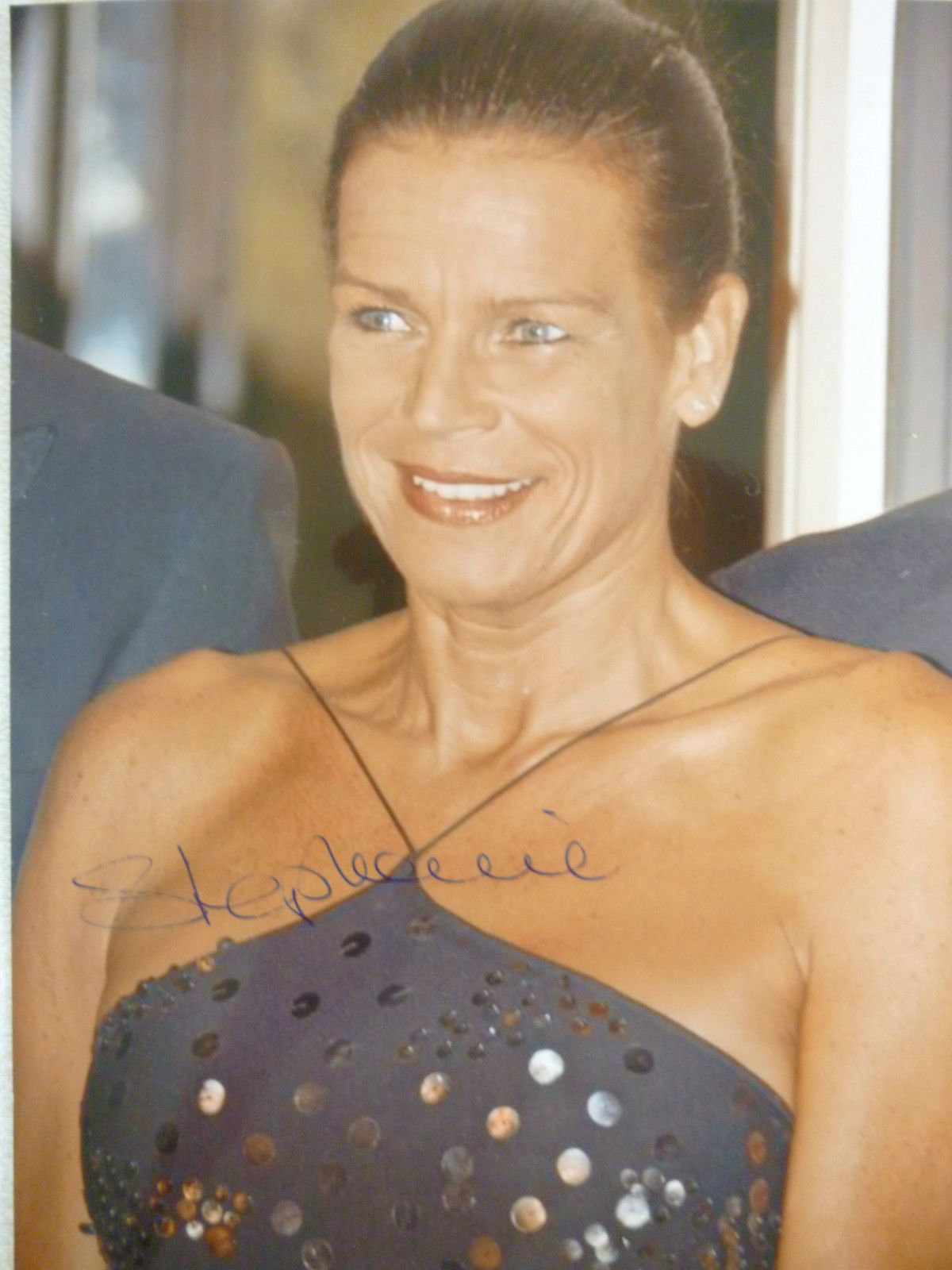 Princess Stephanie of Monaco autograph (With images