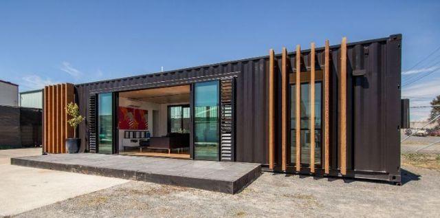 Casa em container 2 quartos em 2 modulos de 12mt - Venda - casas e ...