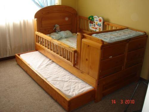 resultado de imagen para cama cuna dos bebes