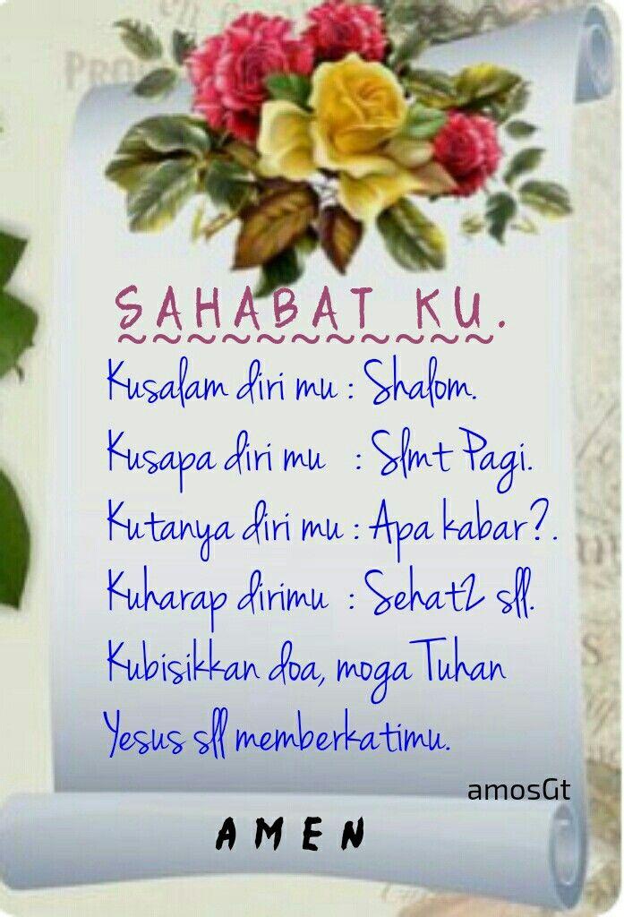 Shalom Sahabat Doa Motivasi Tuhan