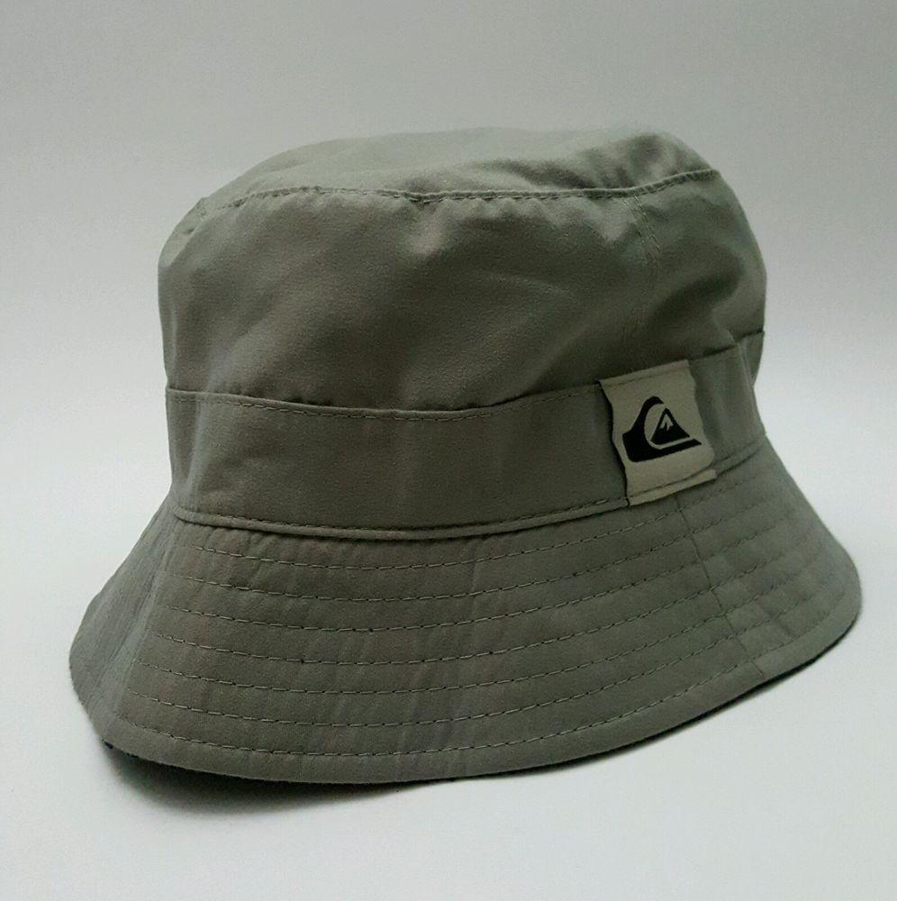 New Auth QUIKSILVER Men s Bucket Hat 40a0c6c5829