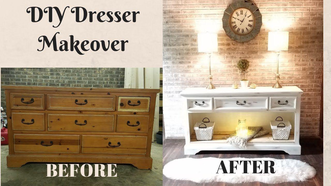 Diy Dresser Makeover Upcycling Old Furniture Dresser Makeover Furniture Transformation On A Budget Diy Dresser Makeover Diy Dresser Upcycled Furniture Diy