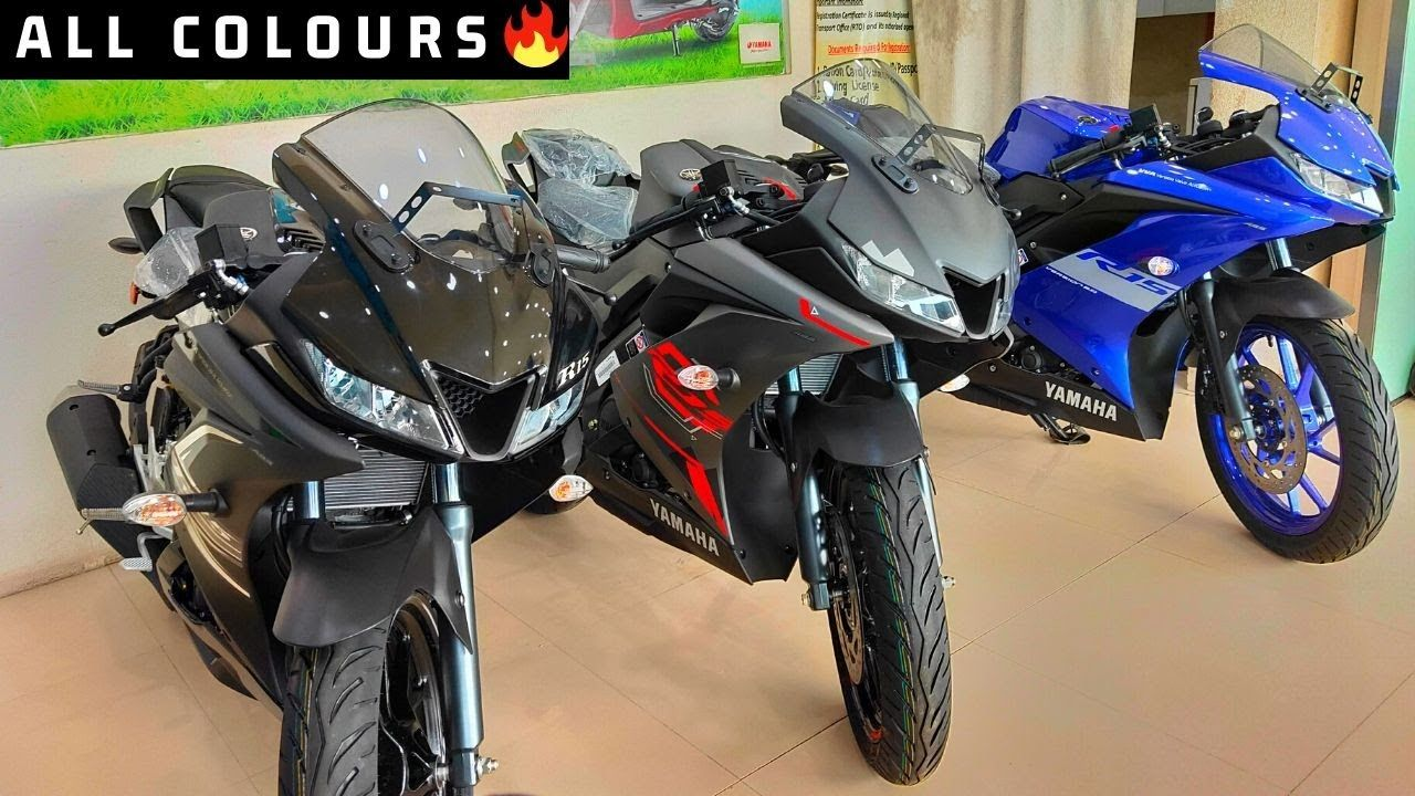 Yamaha R15 V3 Bs6 All Colours Walakaround Price And