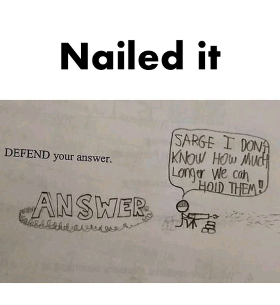 This kid nailed it memes Funny kid answers, Funniest