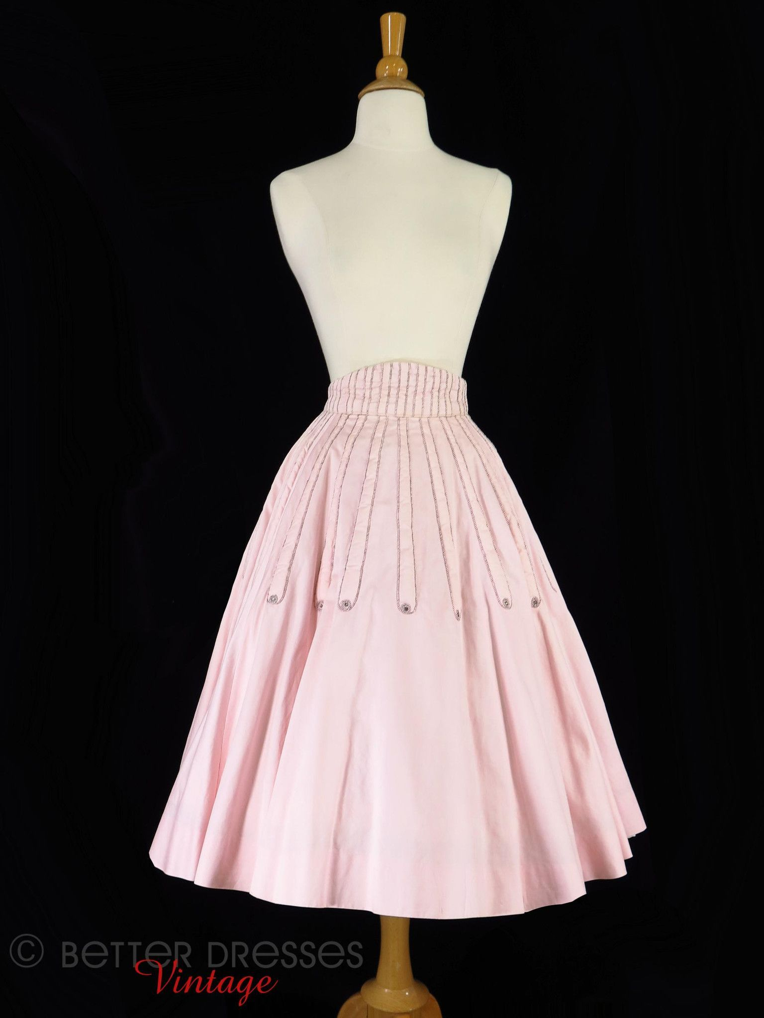 Ss pink full circle skirt xs sm full circle skirts circle