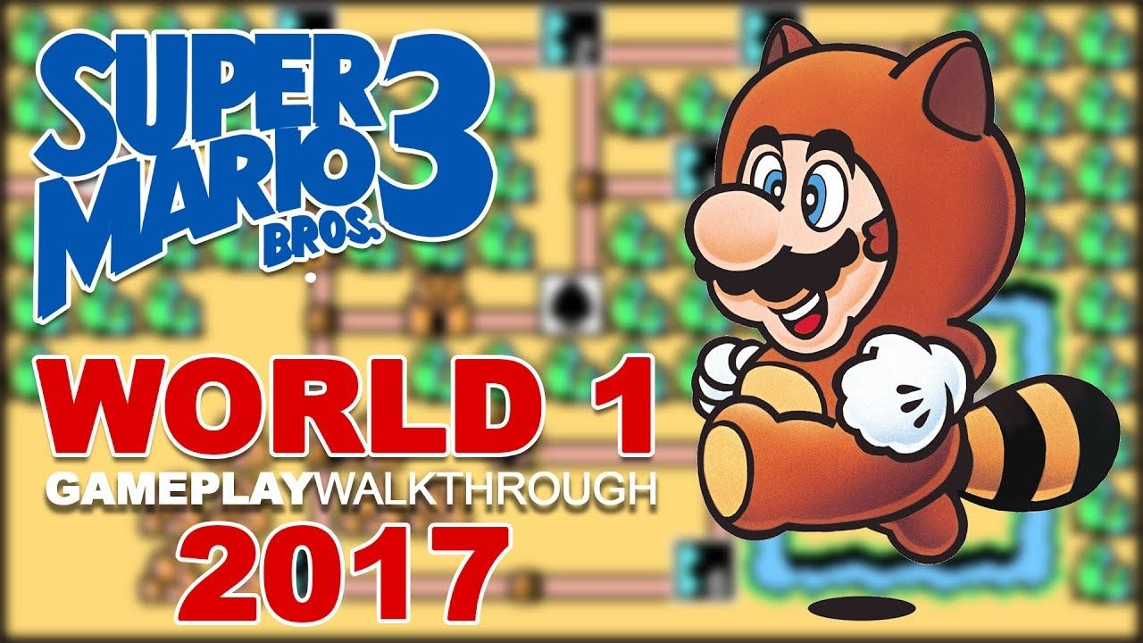 Super Mario Bros 3 | World 1| Gameplay Walkthrough | Super Nintendo