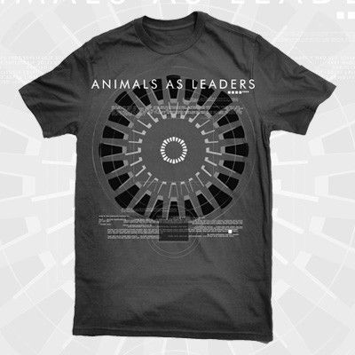Animals As Leaders Binary Shirt Mens Tops Mens Tshirts Shirts