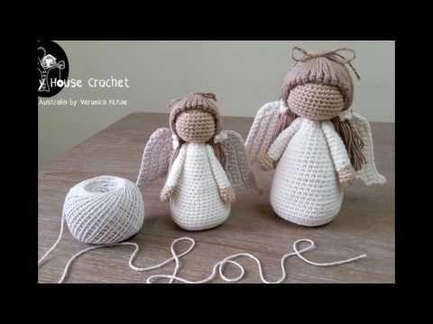 ángel A Crochet Parte I Youtube Vídeos De Crochet Pinterest
