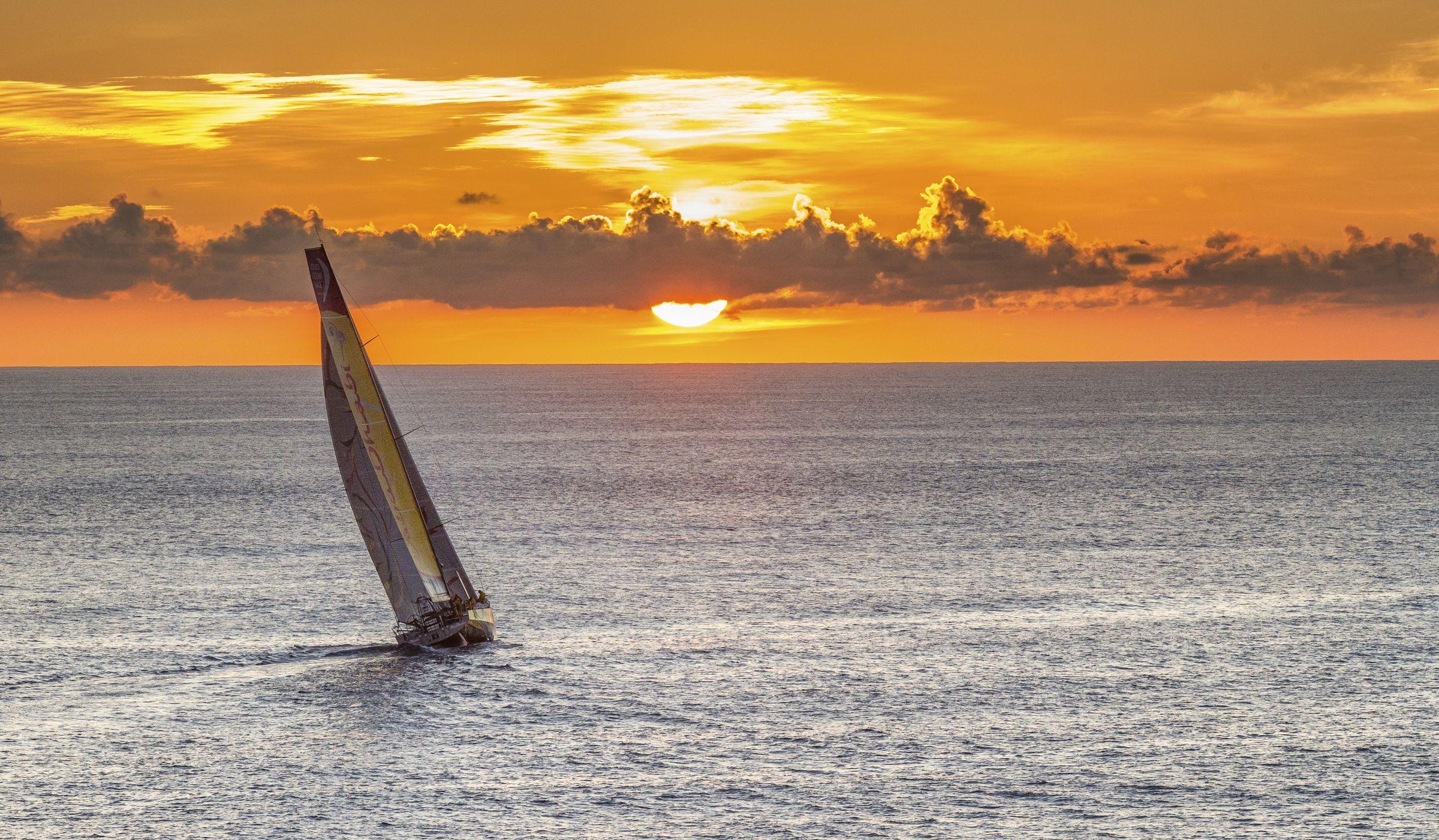 Volvo Ocean Race 201415 Auckland Arrivals 28 February