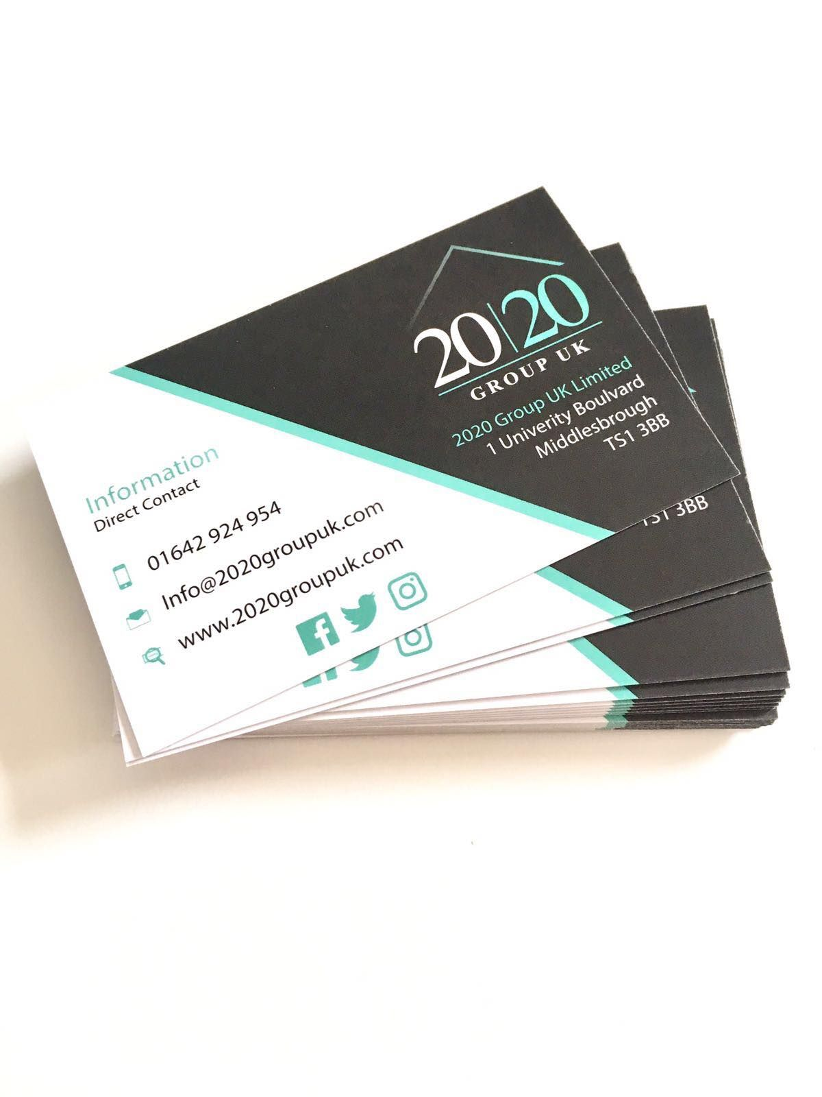 Business Card Design 2020.This Is The New Brochure And Business Cards We Designed For