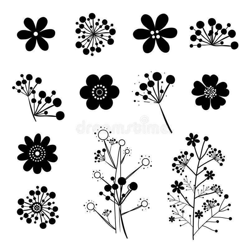 Vintage Flower Vector Stock Vector Vintage Flowers Flower Illustration Illustration