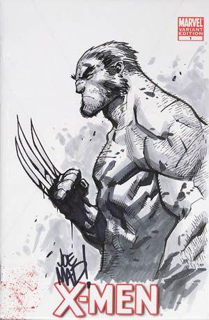 JoeMadArt.com: Wolverine X-Mmen #1 comic sketch cover