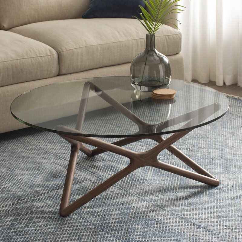Conner Coffee Table Reviews Allmodern Coffee Table Round Glass Coffee Table Coffee Table Design #round #glass #tables #for #living #room