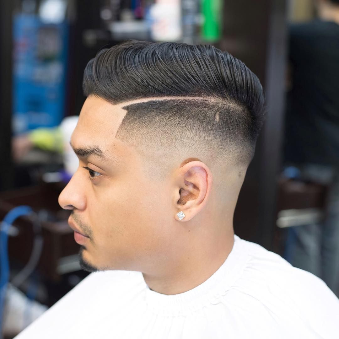 Side Part Comb Over High Skin Fade Mens Haircuts Top 100 Fade