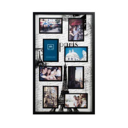 Amazon Com Melannco 8 Opening Paris Shadow Box Collage Frame