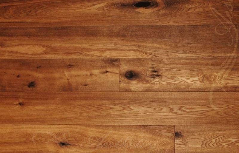 Eiche Landhausdiele Sherry, Markant, angeräuchert, gebürstet, oxidativ geölt, 14 x 180 x 2200 mm, Holzboden, Klick