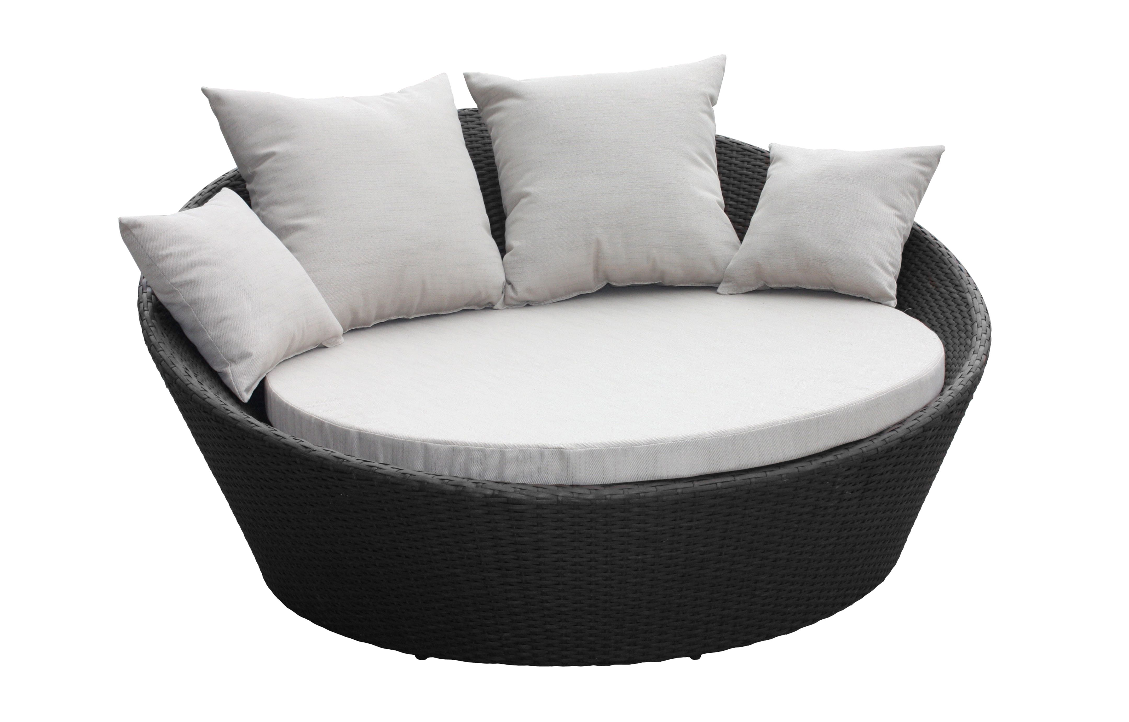 Mimosa denarau day bed with cushions bunnings warehouse