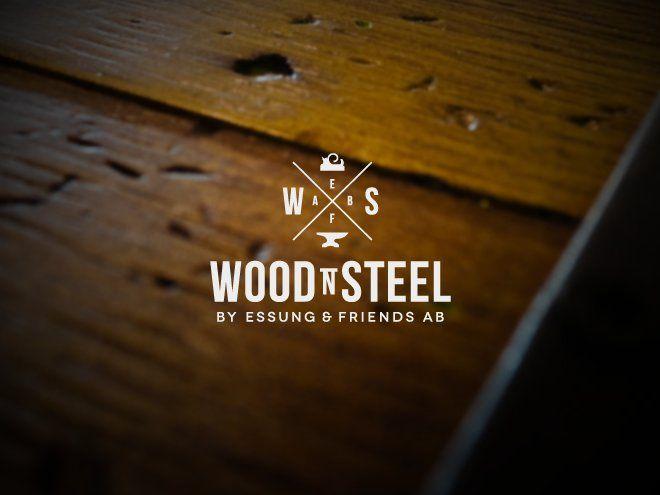 Logo Design 41 Wood N Steel Furniture Ab Design Project