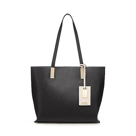 Faith Black 'Evelyn' tote bag