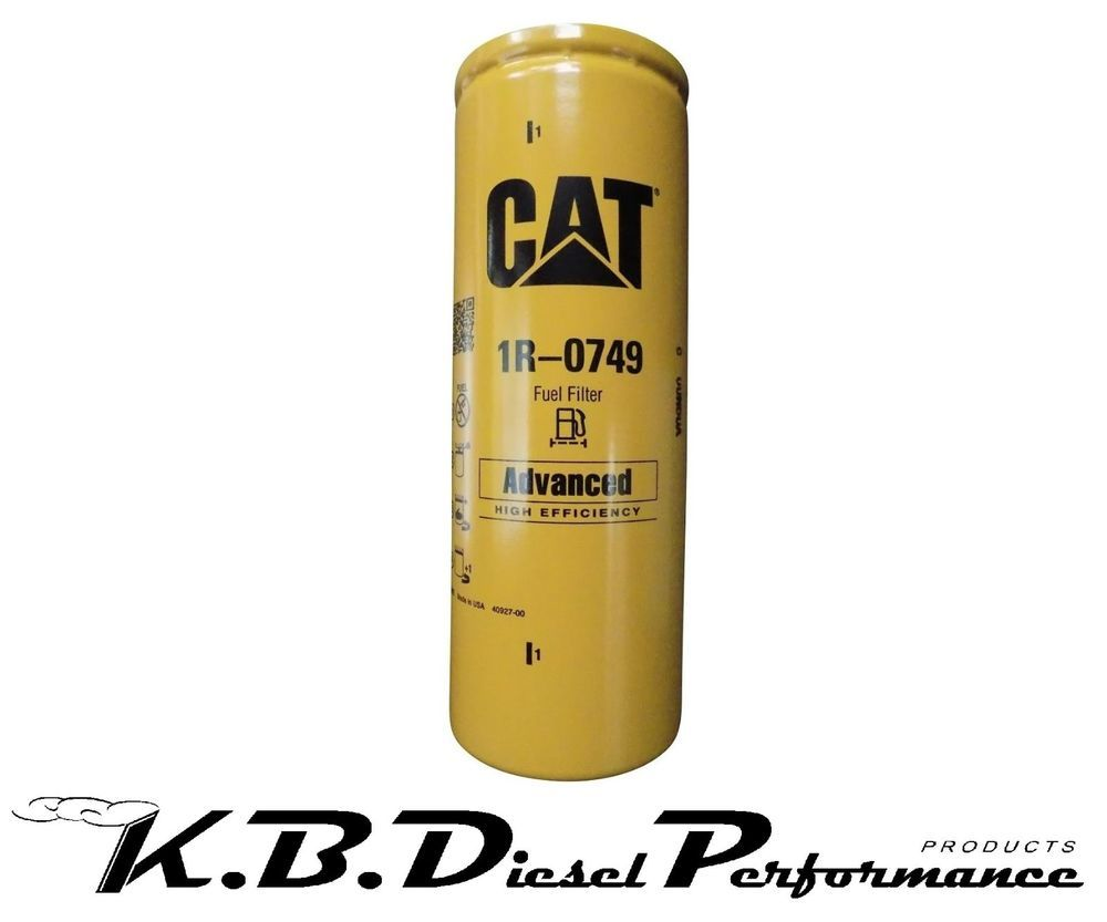 Cat Caterpillar 1r 0749 2 Micron Fuel Filter Powerstroke 73l 60l Napa Filters One For Use With 1 14 Mounts