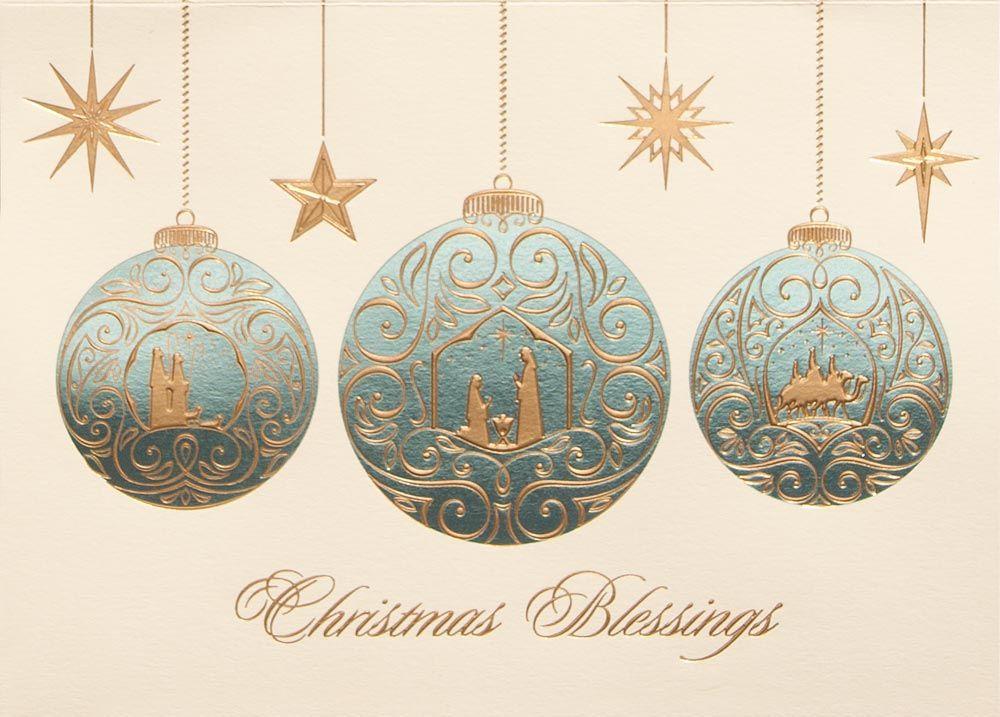Religious Christmas Ornament | Christmas interiors, Christian ...
