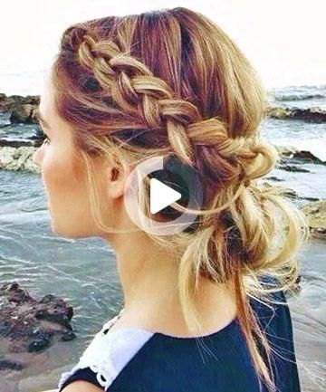 7 Insanely Chic Coiffures Pour Cheveux Greasy In 2020 Braided Hairstyles Easy Hair Styles Easy Hairstyles