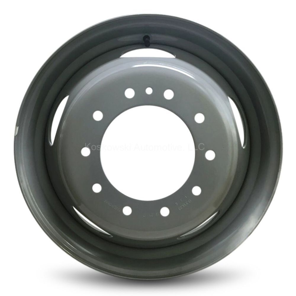 Dodge Ram 4500 New Steel 19 5 Wheel Dually Rim 08 09 10 11 12 13 14 15 16 Steel Rims Replacement Wheels Wheel Rims